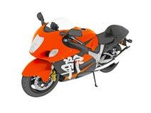 Racing motocycle Stock Photography