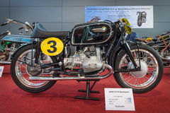 Racing motorcycle BMW RS 54, 1954. Royalty Free Stock Image