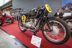 Racing motorcycle BMW RS 54, 1954. Royalty Free Stock Images