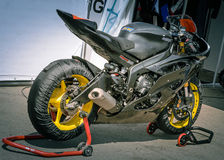 Racing motorcycles Royalty Free Stock Photography