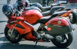 Racing motorcycles Royalty Free Stock Photos