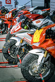 Racing motorcycles Royalty Free Stock Images