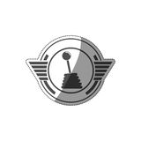 Racing motorsport symbol Royalty Free Stock Photography