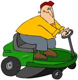 Racing Mower Royalty Free Stock Image