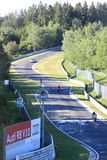 Racing on the Nurburgring Stock Photography