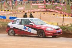 Racing old car in srilanka Stock Photos