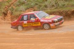 Racing old car in srilanka Stock Images