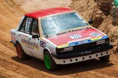 Racing old car in srilanka Royalty Free Stock Image
