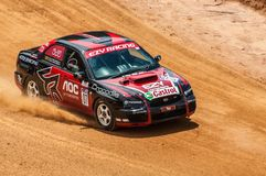 Racing old cars in srilanka Stock Images