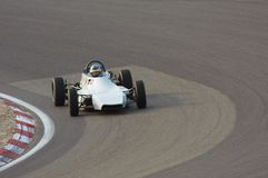 Racing On Circuit Royalty Free Stock Photo