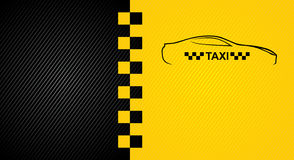 Racing orange background, taxi cab cover template. Royalty Free Stock Images
