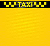 Racing orange background, taxi cab cover template. Royalty Free Stock Image