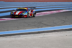 Racing on Paul Ricard High Tech Test Stock Image
