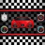 Racing poster vector illustration vector illustration