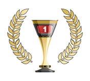 Racing prize grunge Stock Image