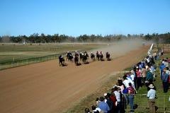 Racing in Progress Royalty Free Stock Photo