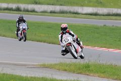 Racing, Race Track, Road Racing, Grand Prix Motorcycle Racing Stock Images