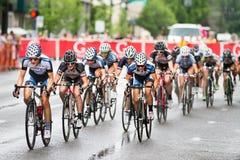 Racing in the rain Stock Photo