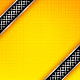 Racing ribbons background template Royalty Free Stock Images