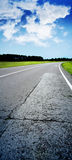 Racing route Stock Images