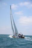Racing sailing yachts Stock Photo