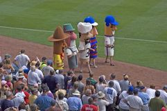 Racing Sausages at Miller Park, Milwaukee Brewers