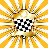 Racing_shield_03 Stock Photos