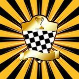 Racing_shields_05 Stock Photos