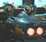 Racing simulator game. Royalty Free Stock Photo