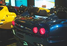 Racing simulator. Stock Photography