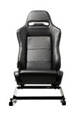 Racing simulator seat Royalty Free Stock Photos