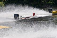 Racing Speed Boats Stock Photos