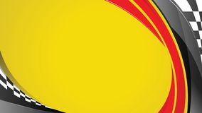 Free Racing Speed Yellow Background Royalty Free Stock Image - 168540446