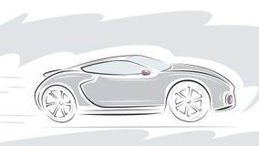 Racing Sport car Royalty Free Stock Photos