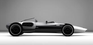 Racing sports car concept Stock Photography
