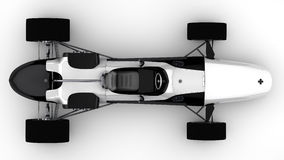 Racing sports car concept Stock Images