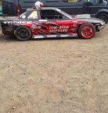 Racing sports car Stock Photos