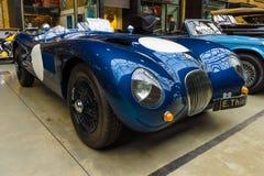 Racing sports car Jaguar C-Type Proteus Royalty Free Stock Photo