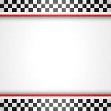 Racing square background Stock Photography