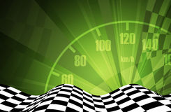 Racing square background Royalty Free Stock Photo