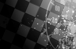 Racing square background, vector illustration  Royalty Free Stock Photo