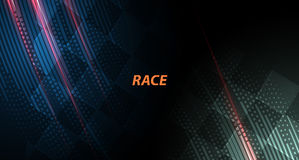 Racing square background, vector illustration abstraction in car. Racing square background, vector abstraction in car track Stock Photography
