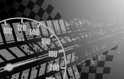 Racing square background, vector illustration abstraction in rac Royalty Free Stock Image