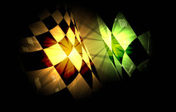 Racing square background, vector illustration abstraction in rac Stock Photography