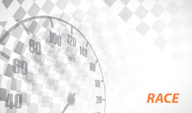 Racing square background, vector illustration abstraction in rac Royalty Free Stock Images