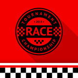 Racing stamp-07 Stock Photography