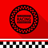 Racing stamp-03. Racing stamp 03 vector illustration Royalty Free Stock Image