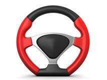 Racing steering wheel Stock Photo
