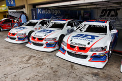 Racing Stock Cars Interlagos Brazil Stock Photos