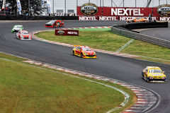 Racing Stok Cars in Interlagos Brazil Stock Photos